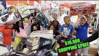 TOOK THE KID'S ON A $10,000 SHOPPING SPREE! (THEY BOUGHT TOYS)