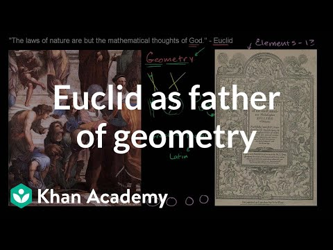 A thumbnail for: Introduction to Euclidean geometry