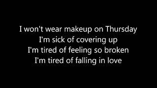 Jess Glynne - Thursday LYRICS