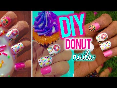 ♥ DIY : Donut Nail art | Larissa DSa ♥