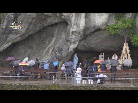 Messe de 10h à Lourdes du 11 mai 2021
