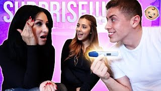 TELLING MY MOM WE'RE PREGNANT!!! (DIDN'T END AS EXPECTED)
