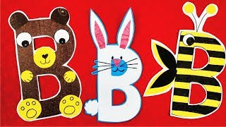 Teaching Alphabet Fun Way L Alphabet B Activity For Kids L Alphabets Fun Games