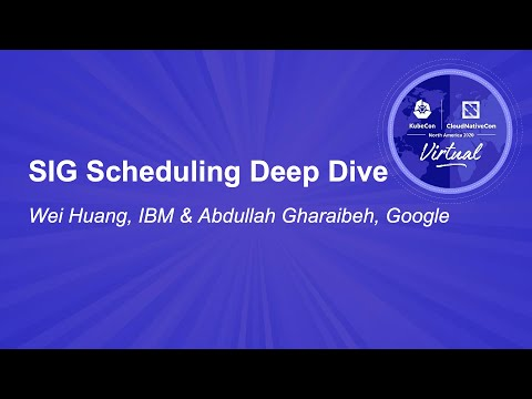 Image thumbnail for talk SIG Scheduling Deep Dive