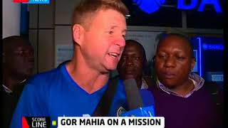 Score Line:Gor Mahia defied all the odds to win against South African side Supersport United