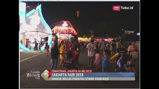 Warga Mulai Padati Stand Pameran Jakarta Fair 2018   BIP 2505