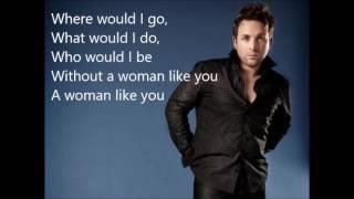 Johnny Reid - A Women Like You - Lyrics