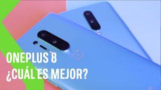 OnePlus 8 vs OnePlus 8 Pro: ¿Cuál me compro?