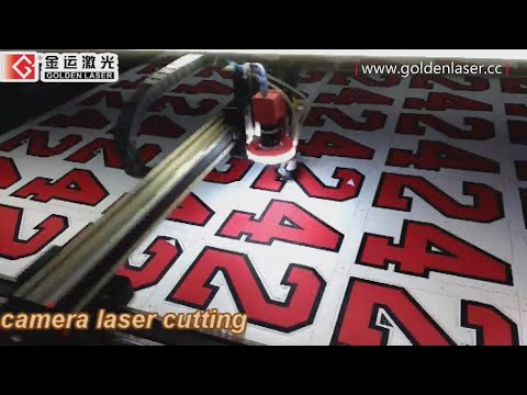 VisionLaser Cut for Digital Print (label letter, sportswear, banner cutting)