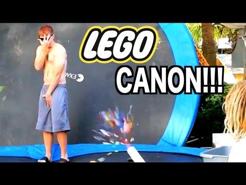 LEGO CANON CHALLENGE!!! 1000fps Super Slow Motion!