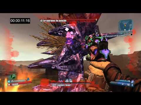 Borderlands 2   OP8 Terramorphous vs Mongbath Krieg In 7