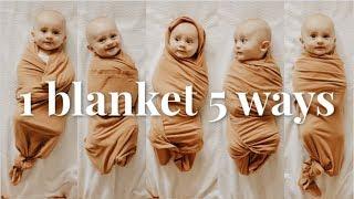 5 Cara Mudah dan Cepat Membedong Bayi
