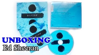 Unboxing CD - Ed Sheeran ÷ DIVIDE (Special Edition with Bonus Tracks)