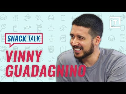 Jersey Shore's Vinny G Talks Boardwalk Snacks || SnackTalk