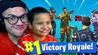 *NEW* THIEVES SKINS ARE UNSTOPPABLE AND INSANE! 9 YEAR OLD BROTHER EXPOSED? FORTNITE BATTLE ROYALE!