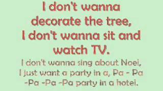 Santa Gimme - J Randall [Lyrics on Screen]