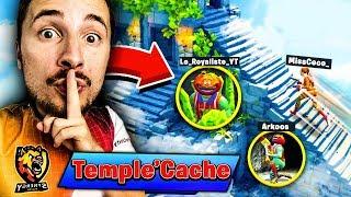 Le jeu du *Temple Caché* sur Fortnite Battle Royale !