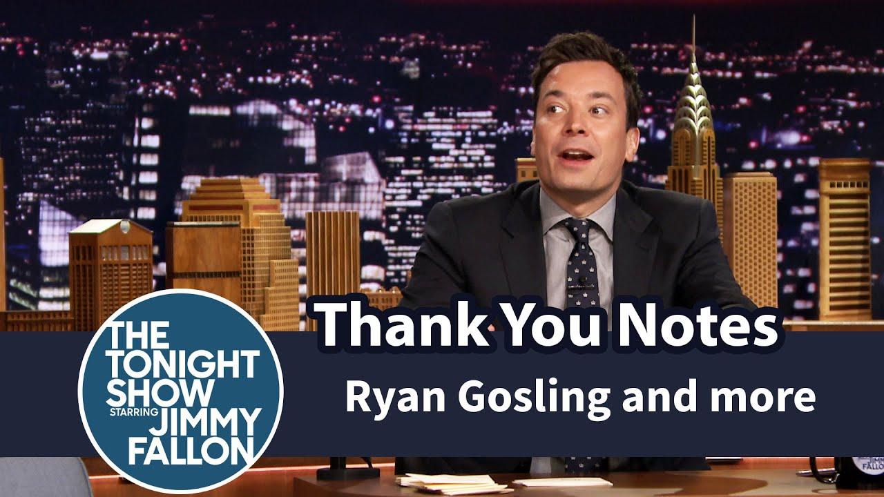 Thank You Notes: Ryan Gosling and Eva Mendes, Geysers, Boyz II Men thumbnail