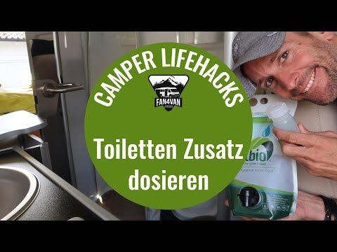 Life Hacks Wohnmobil - Mein Trick für die Toilette