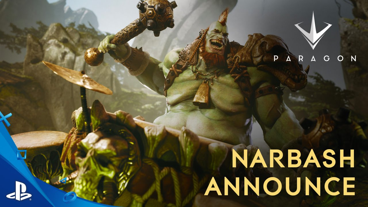 Paragon: Brutal Drummer Narbash Enters the Arena August 23