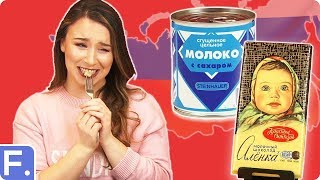 Irish People Try Russian Snacks