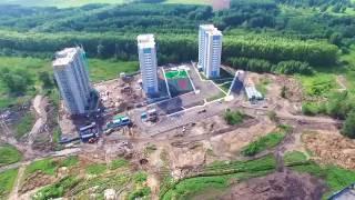Жилой комплекс «Акварельный» в Новосибирске. Большая видео презентация