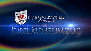 preview picture of video 'Fasnet-Umzug Wannweil 2015'