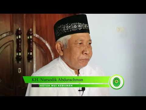 Testimoni Ketua MUI Kabupaten Kebumen
