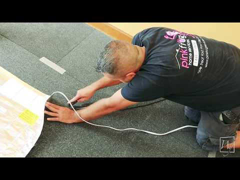 Installing Electric Floor Heating under a Floating Wood Floor