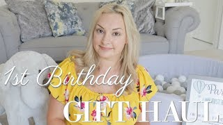 ONE YEAR OLD BIRTHDAY PRESENT HAUL | WHAT TO BUY A ONE YEAR OLD? | MRS SMITH & CO.