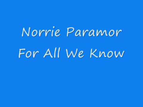 Norrie Paramor - For All We Know
