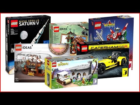 ALL LEGO IDEAS of All Time COMPILATION Unboxing Speed Build