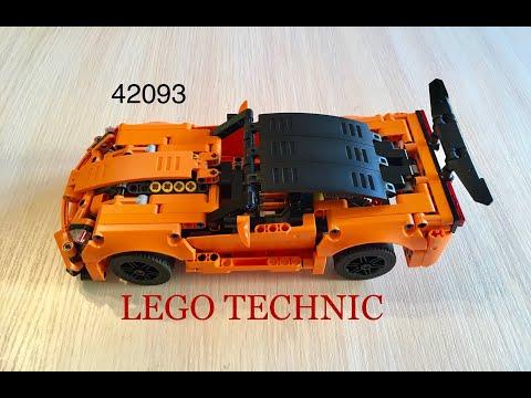 Отличная модель LEGO TECHNIC 42093, corvette