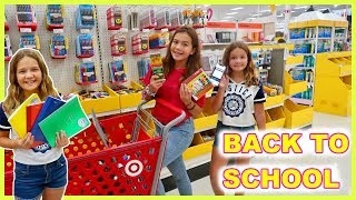BACK TO SCHOOL SHOPPING | SISTER FOREVER