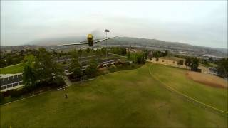 DJI F450 FPV Mid Air with UMX Mustang