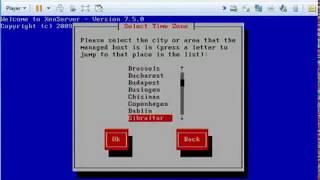 xen server install