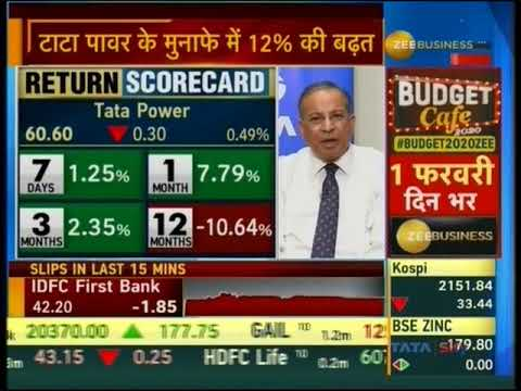 Mr Praveer Sinha CEO and MD, TATA Power: Interview with Zee Business