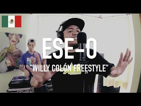 ESE-O x DJ Sonicko - Willy Colón Freestyle [ TCE Mic Check ]