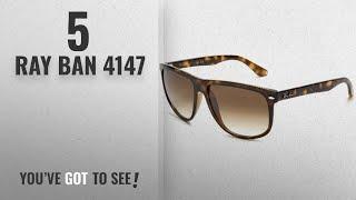 Top 10 Ray Ban 4147 [ Winter 2018 ]: Ray Ban RB4147   LIGHT HAVANA Frame CRYSTAL BROWN GRADIENT