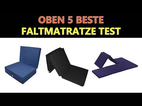 Beste Faltmatratze Test 2018