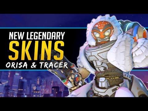 Overwatch NEW Legendary Skins Tracer & Orisa - Lunar New Year Event