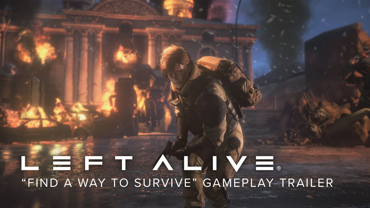 Video LEFT ALIVE® - Day One Edition [PC Download]