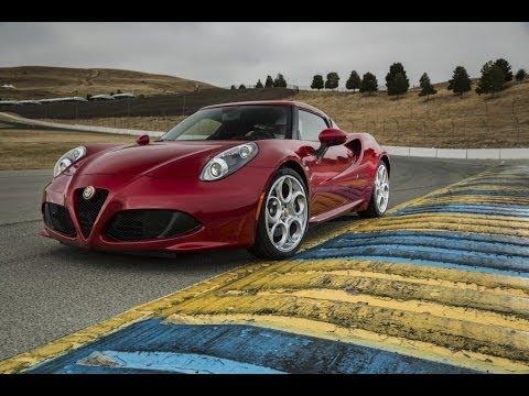2015 Alfa Romeo 4C Test Drive Review