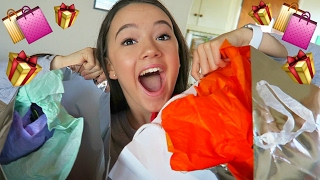 Opening Valentine's Day GIFTS! FionaFrills Vlogs