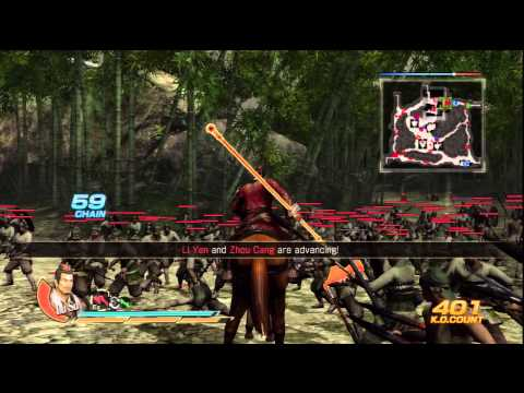 Dynasty Warriors 8 - Wu Part 8 - Battle of Jing Province [PS3] (Saving Lu Su)