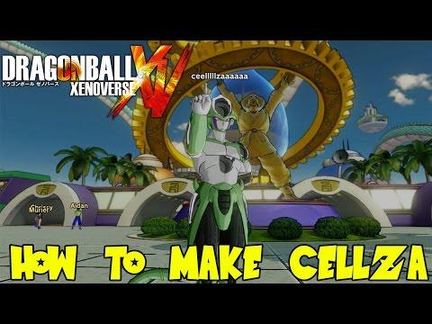 Dragon Ball Xenoverse: How To Make Cellza (Cell & Frieza Fusion Custom Character Tutorial)