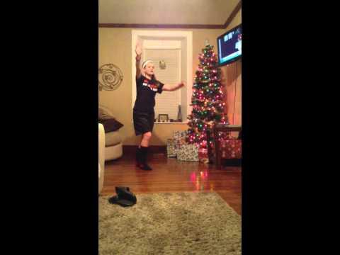 Kiah dancing