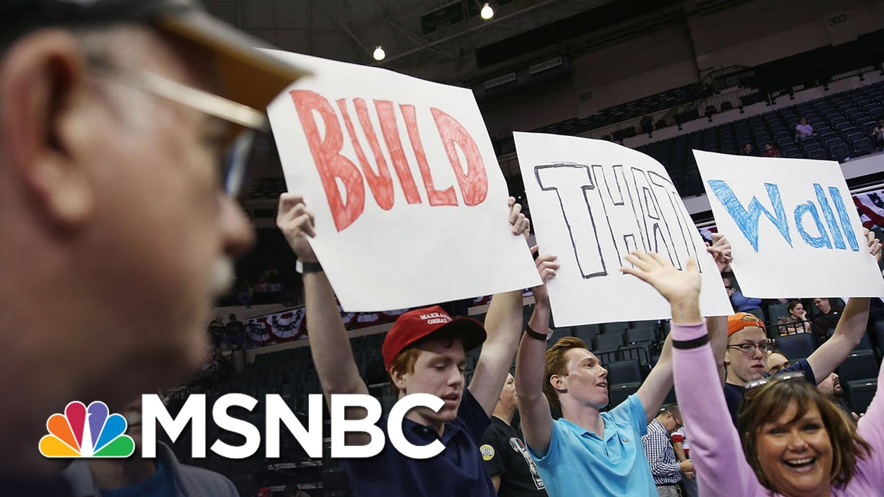 What It Would Take To Build Donald Trump's Wall   MSNBC thumbnail