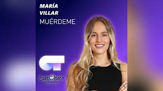 MUÉRDEME (AUDIO OFICIAL)   María Villar   Eurovisión 2019