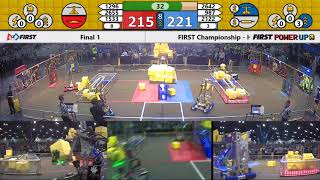 Final 1 - 2018 FIRST Championship - Houston - Turing Subdivision